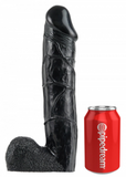 King Cock Unisex Strap On 12 Inch Hollow Dildo - The Pantie Purse