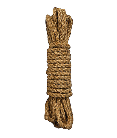 Ouch Brown Shibari Rope 5M - The Pantie Purse
