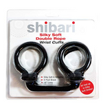 Shibari Double Bondage Rope Cuffs