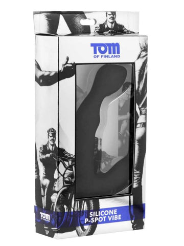 Tom of Finland P-Spot Silicone Prostate Massager Vibe - The Pantie Purse