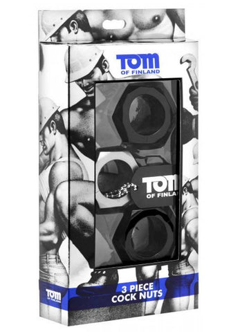 Tom of Finland Cock Nuts 3 Piece-Set - The Pantie Purse