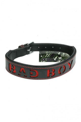 Oscuro Leather Bad Boy Collar - The Pantie Purse