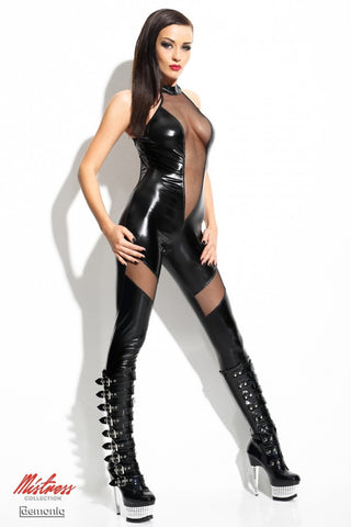 Demoniq Ilse Black Backless Catsuit - The Pantie Purse