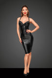 Noir Handmade Decadence Power Wetlook Bodycon Dress