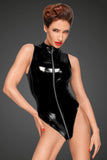 Noir Handmade PVC Body with 3 way Zipper