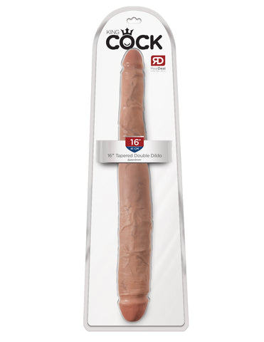 King Cock 16″ Tapered Double Dildo