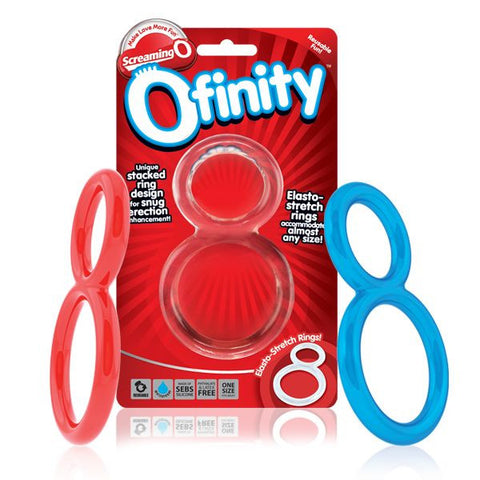 Screaming O Ofinity figure of 8 Cock Rings - The Pantie Purse
