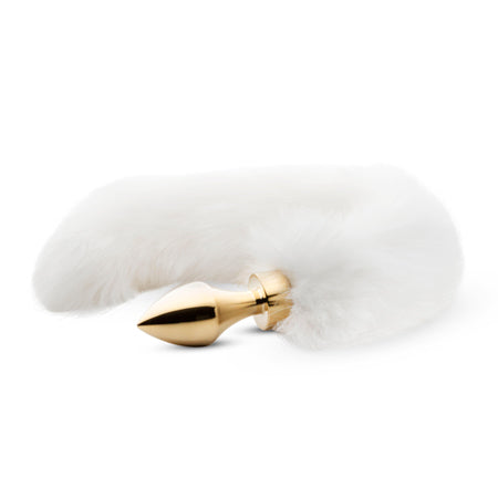 Snow White Fox Tail Butt Plug