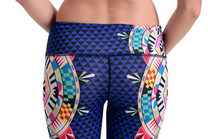 Yoga Legging Circles of Joy Back