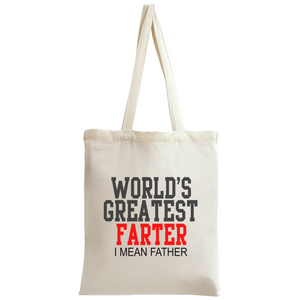 World's Greatest Father Tote Bag - ms-leggings