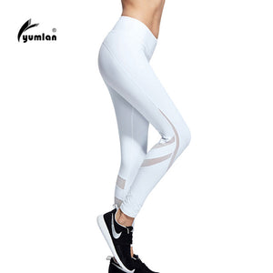 Sex High Waist Stretched Sports Pants Gym Clothes Spandex Running Tights Women Sports Leggings Fitness Yoga Pants - Yogabona