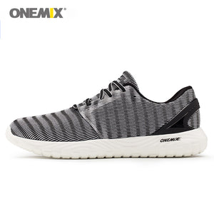 ONEMIX men's jogging shoes summer sneakers soft deodorant insole light cool sneakers women sneakers for outdoor running walking - ms-leggings