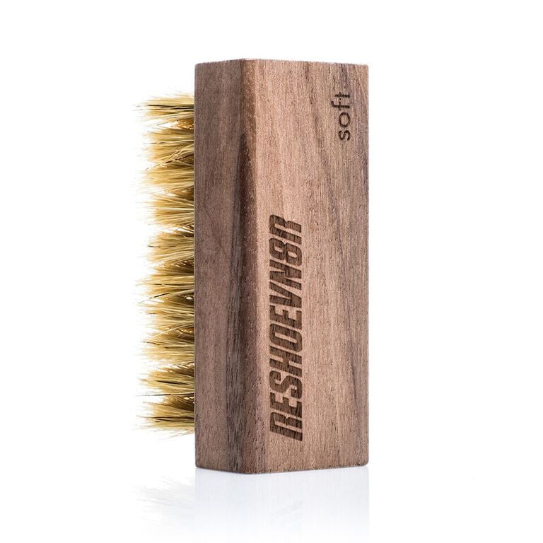 Reshoevn8r Premium Hog Bristle Soft/Suede Brush