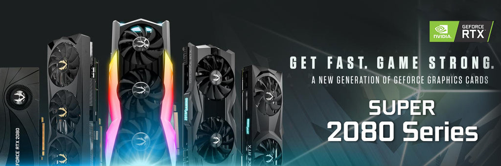 ZOTAC GEFORCE RTX 2080 SUPER GRAPHIC CARDS