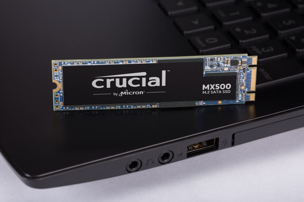 Crucial 500GB SSD on TPS
