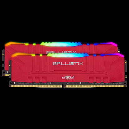 Ballistix 16GB Kit DDR4 3000MHz Desktop Gaming Memory
