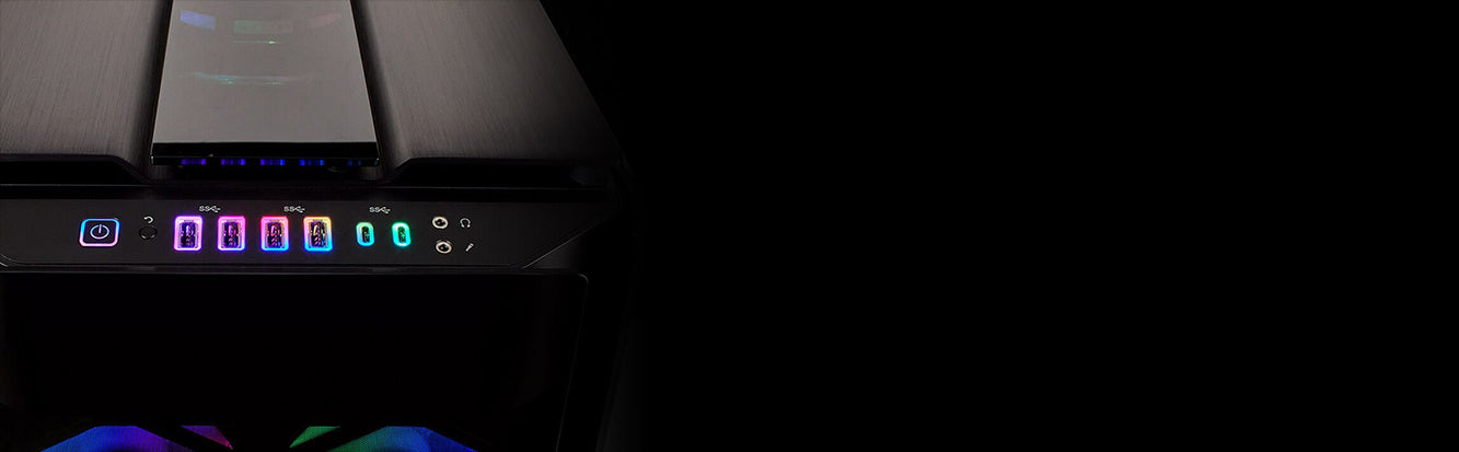 Corsair Obsidian Series 1000D Super Tower cabinet Tempered Glass Case From TPS Technologies