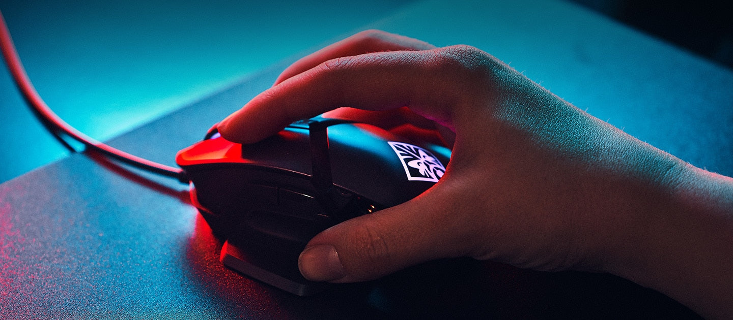 HP OMEN REACTOR Optical Mouse | TPS - The Peripheral Store