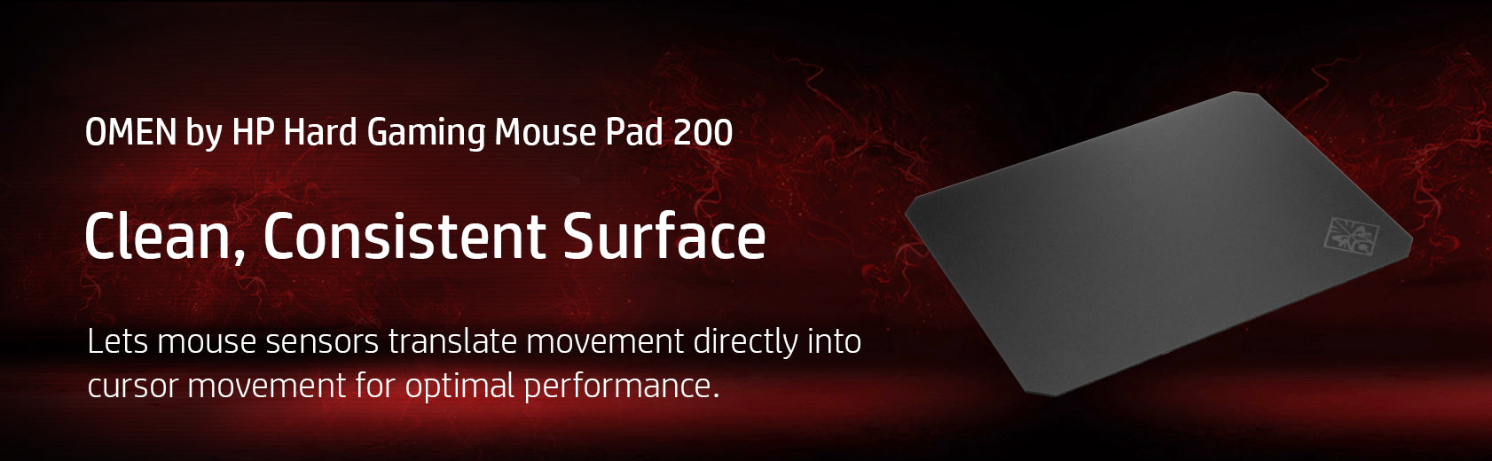 HP OMEN Hard Gaming Mouse Pad 200