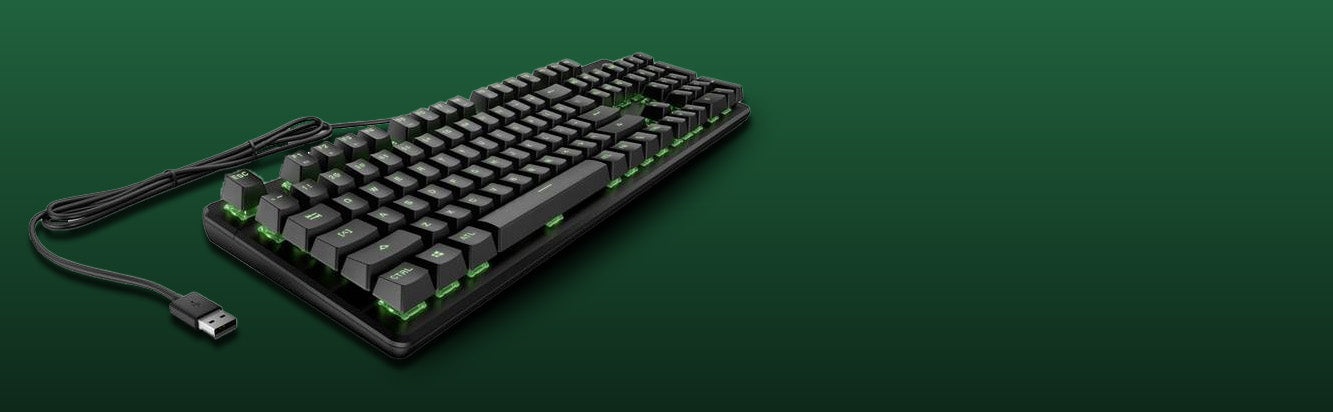 Hp Pavilion Wired Mechanical Rgb Gaming Keyboard 500 With Rgb Led Tps Technologies