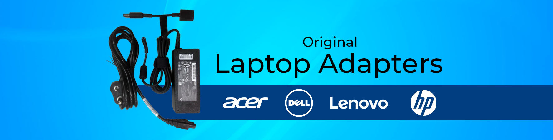 Laptop Adapters Banner