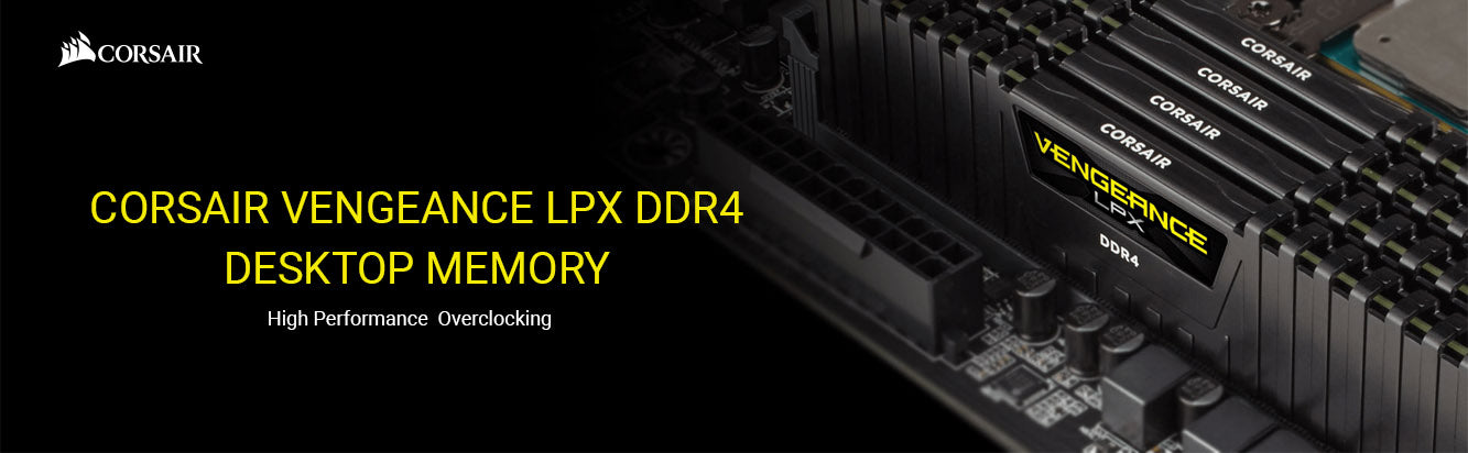 Corsair Vengeance LPX RAM 32GB DDR4 UDIMM 288 Pin Desktop Memory