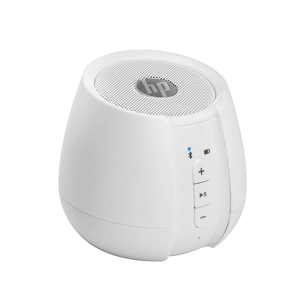 HP S6500 Wireless Mini Speakers with AUX Connectivity and LED Indicators