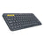 Logitech K380 Bluetooth Wireless Multi-Device Black Keyboard with Up to 3 Devices Connectivity and 2 Year Battery Life