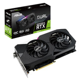 ASUS Dual RTX 3060 Ti OC Edition 8GB GDDR6 256-Bit Graphics card with DLSS AI Rendering