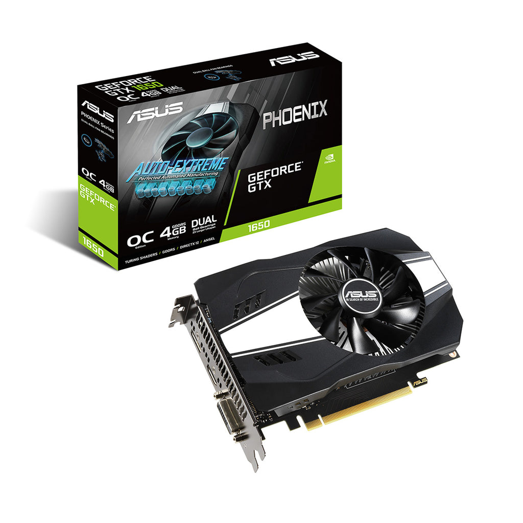 ASUS Phoenix GeForce GTX 1650 V2 OC edition 4GB GDDR5 128 Bit Graphics Card