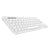 Logitech K380 Bluetooth Wireless Multi-Device Off-White Keyboard with Up to 3 Devices Connectivity and 2 Year Battery Life