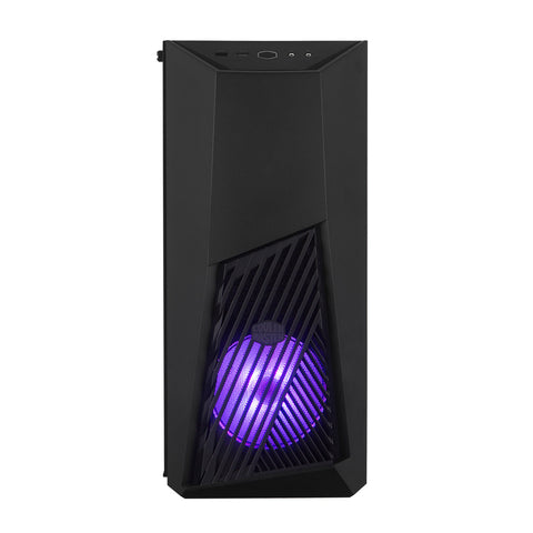 Cooler Master K501L RGB V2 Mid Tower Gaming Case with Pre-Installed RGB Fan PSU Shroud and Tempered Glass Side Panel