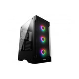 Gamdias TALOS E2 Mid Tower PC Case Cabinet with 3 120mm ARGB Fans and Dust Filter