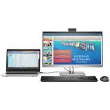 HP EliteDisplay 23 inch E243d IPS LED Backlit FHD Anti-Glare Computer Monitor with Pivot Rotation and in-Built Docking Station