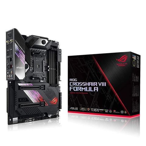 ASUS ROG Crosshair VIII Formula X570 AMD AM4 ATX Gaming Motherboard with on-Board WiFi 6