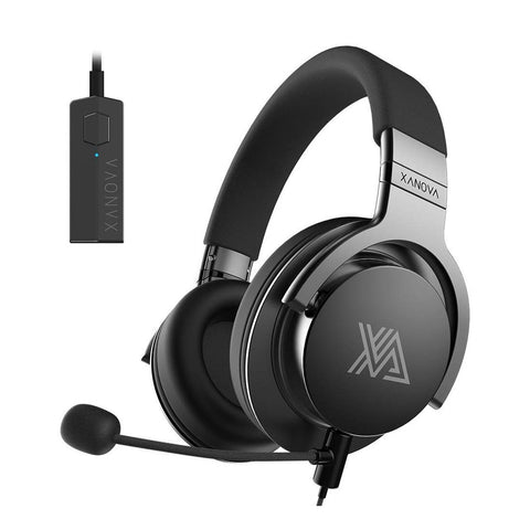 Xanova Juturna-U Gaming Headset with Virtual 7.1 Surround Sound and Microphone