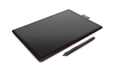 Wacom One Graphic 6-inch x 3.5-inch Tablet (Red and Black) | Buy on TPS - The peripheral Store
