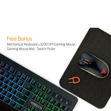 Gamdias Hermes E1A Mem-chanical Keyboard Gaming Mouse and MousePad Combo