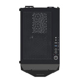 Gamdias ATHENA E1 Mid Tower PC Case Cabinet with Two 120mm Fan and ARGB Lighting