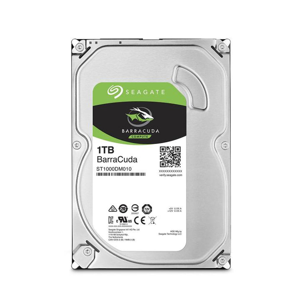 Seagate BarraCuda 3.5-Inch SATA 6Gbps Internal Hard Disk