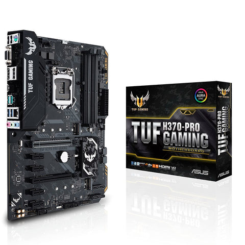 ASUS TUF H470-Pro Gaming LGA 1151 ATX Motherboard with M.2 USB-C and Multi GPU Support