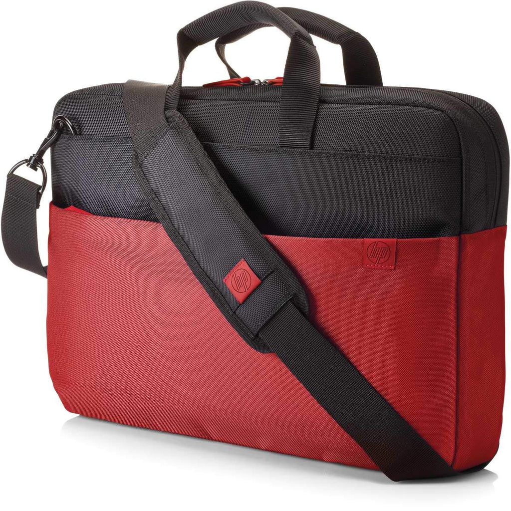 HP Duotone Red Briefcase for Laptops up to 15.6-inch