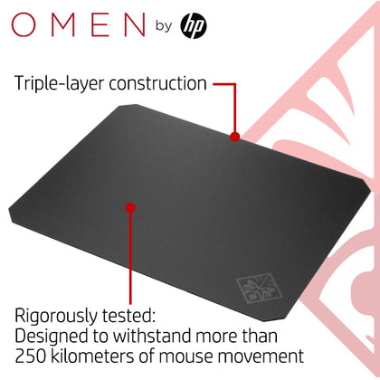 Hp Omen Hard Gaming Mouse Pad 200 Tps The Peripheral Store