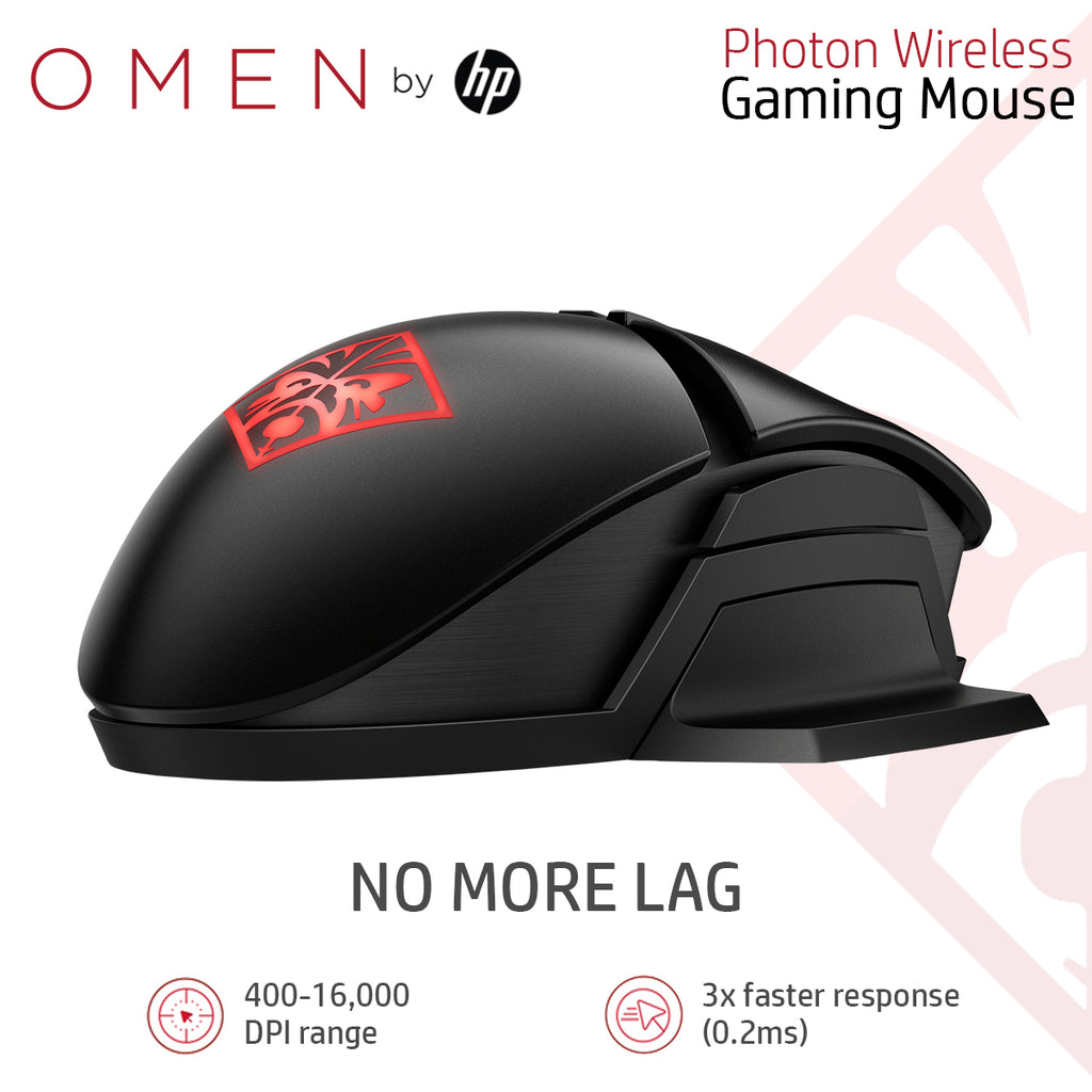 HP OMEN Photon Wireless Gaming Mouse With Qi Wireless