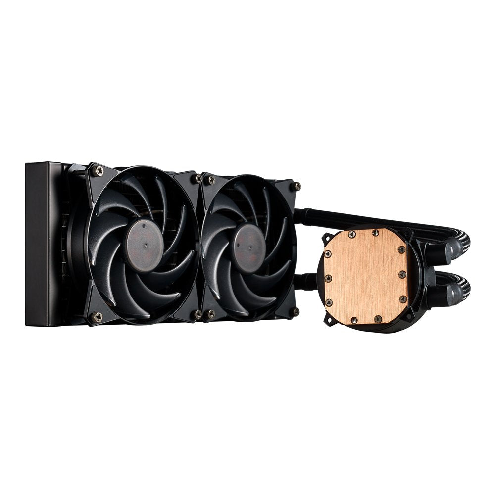 Cooler Master MasterLiquid 240 Liquid Cooler with Low Profile Dual Chamber Pump