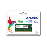 ADATA Premier Series DDR3 4GB 1600MHz Laptop Memory RAM - The Peripheral Store | TPS
