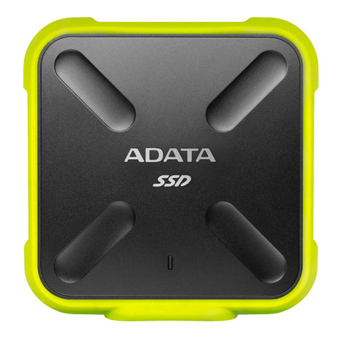 ADATA SD700 USB 3.1 External Solid State Drive Yellow