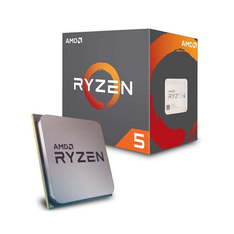 AMD Ryzen 5 2600X Desktop Processor 6 Cores up to 4.2GHz 19MB Cache AM4 Socket (YD260XBCAFBOX)