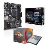 AMD Ryzen 7 3700X Desktop Processor and ASUS PRIME B450M-A Motherboard Combo