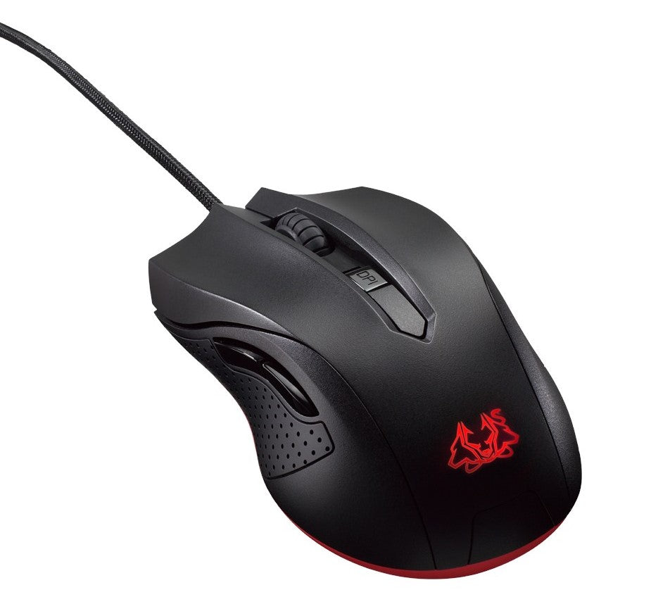 ASUS Cerberus Ambidextrous Optical Gaming Mouse - The Peripheral Store | TPS